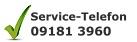 Service-Telefon 09181 3960